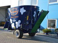 wóz paszowy Alimamix Evolution opuszczany transporter