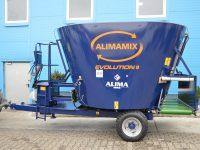 wóz paszowy Alimamix Evolution taśma tylna