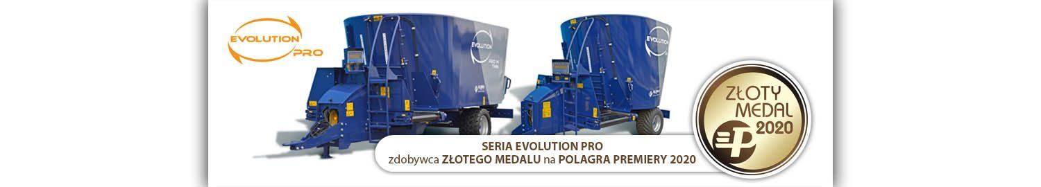 The Gold Medal for Alima for the diet mixers EVOLUTION PRO series!