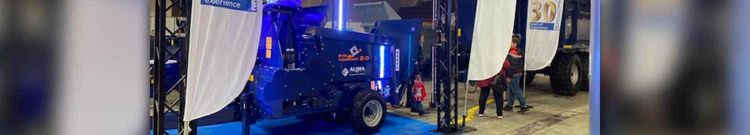 Alima at The Ferma fair in Lodz.